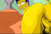 Marge la de los simpsons follando con homero - Comics