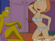 Video porno hentai lesbico de marge simpsons - Hentai